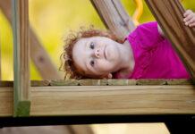 Plac zabaw drewniany dla dzieci